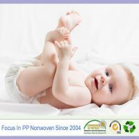 Wholesale PP spunbond nonwoven wholesale materials fabrics for baby diapers from china suppliers