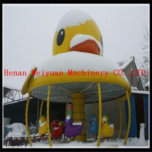 America market popular amusement park ride yellow duck carousel Manufactures