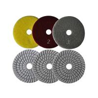 Buy cheap 3-Step Wet Flexible Polishing Pads DM06 from wholesalers