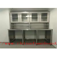Buy cheap Specialized Supply stainless steel lab cabinets   Stainless Steel Lab Furniture For Oversea Importers and Dealers from wholesalers