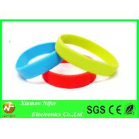 Buy cheap Fashion Custom Silicone Wristbands / Colorful Sport Bracelet from wholesalers
