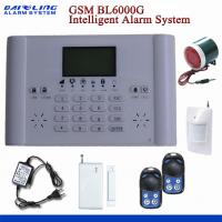 Buy cheap GSM intelligent indoor alarm system auto-dailing BL6000G  white color from wholesalers