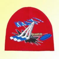 Buy cheap Knitted Jacquard Hat Made of 94% Acrylic and 6% Amine from wholesalers