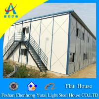 Buy cheap prefabricated house prices,flat roof house design from wholesalers