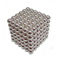 Buy cheap N35 round beads Neocube toys with silver from wholesalers