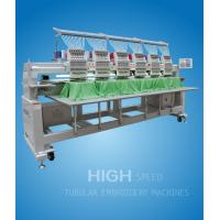 Touch Screen Tubular Embroidery Machine With Multi-function Manufactures