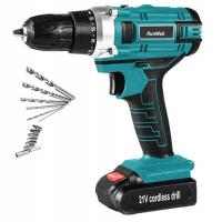Buy cheap Portable 21V Cordless Drill High Performance 0 - 350RPM / 0 - 1350RPM Speed from wholesalers