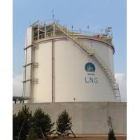 Buy cheap Cryogenic LNG Storage Tanks Single Containment Natural Gas Liquefaction Plant from wholesalers
