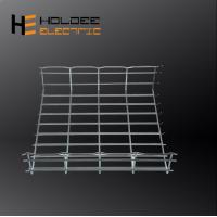 Buy cheap 3m length Electro galvanized steel wire meshbasket grid cabletray with cover from wholesalers