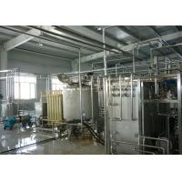 Automatic Drinking Fresh Fruit Yoghurt / Flavoured Yogurt Production Line Equipment Manufactures