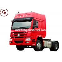 Buy cheap 6 Tires Sinotruk HOWO 4x2 Tractor Head Trailer from wholesalers