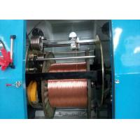 Buy cheap 70 Screw Rod Ribbon Wire Extruder Machine With Automatic Tension Adjusting System from wholesalers