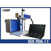 Buy cheap Moveable 20w Fiber Laser Marking Machine For Metal Watches / Auto Parts from wholesalers