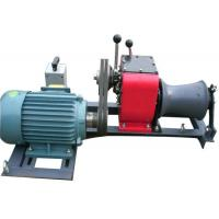 Buy cheap Tower Erection 1 Ton Winch , High Versatility Winch Machine For Cable Pulling from wholesalers