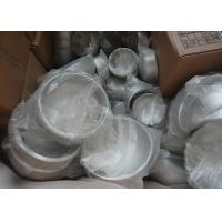 Buy cheap DN150 ASME / ANSI B16.9 316 Stainless Steel End Caps For Pipes , Custom Ss Tube Fittings from wholesalers