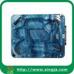 Buy cheap Navy blue Acrylic mini spa hot tub(SJ-0601) from wholesalers