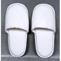 Buy cheap Indoor promotional White non - woven, terry Ladies and Mens Spa, bar and Hotel Slipper from wholesalers