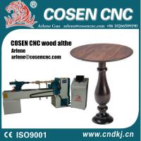 Buy cheap Economic cnc lathe machine price, wood round table making from cnc lathe factory from wholesalers