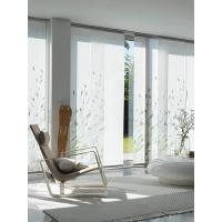 Buy cheap White Fabric Windows Shades Blinds Houses Use , Sliding Panel Blinds from wholesalers