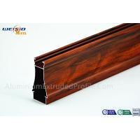 Buy cheap Structural AA6063 T5 Window Aluminium Frame Wood Grain Surface from wholesalers