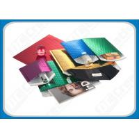 China Eco-Friendly Multitude Foil Metalic Bubble Mailers Bags / Glamour Packaging Envelopes on sale