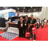 China Ricoh Gen 5X4 Flag Printing Machine Wide Format For Warp Knitted Flag on sale