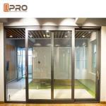 Buy cheap Slim Frame Aluminium Sliding Doors , Soundproof Interior Sliding Glass Doors from wholesalers