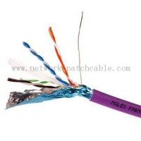Buy cheap RoHS CE ISO Cat6 FTP Cable Copper Cat 6 Plenum Rated Cable Waterproof from wholesalers