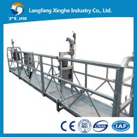Buy cheap Window cleaning cradle hoist / temporary gondola / electric hanging scaffolding ZLP800 from wholesalers