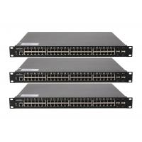 Buy cheap Core network switch 10 / 100 / 1000M auto - adaptive RJ45 port 4 1000 / 10000M fiebr optic 10gb ethernet switch from wholesalers