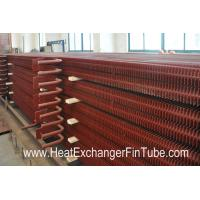 Buy cheap A192 SMLS Carbon Steel H Fin Bolier Square Fin Tube of  Waste Heat Recovery Unit from wholesalers