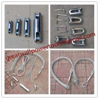 Buy cheap CABLE GRIPS,Wire Mesh Grips,Cord Grips,cable pulling socks,Wire Cable Grips from wholesalers