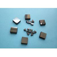 Buy cheap Wood Woking Stone Metal Cutting PCD Die Blanks , Tips Inserts PCD Square Blanks For Cutting Stone from wholesalers