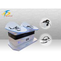 Buy cheap Amazing Experience Double Seats 9D Virtual Reality Equipment White Color from wholesalers