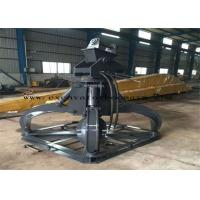 Buy cheap CAT / PC / SK Excavator Hydraulic Orange Peel Grab With 360 Degree Rotation from wholesalers