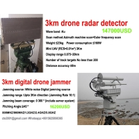Buy cheap Low price 3km drone radar detector Ku bands factory direct product