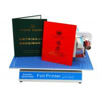 Buy cheap AMD-8025 Custom Hot Foil Machine Foil Label Printer Machine For Book Covers / Dated Items from wholesalers