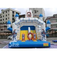 Buy cheap Outdoor Inflatable Jumping Castle Bounce House With Slide For Sale From China Factory product