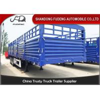 Buy cheap 3 Axles 40 Feet Side Wall Semi Trailer 60 Ton Bulk Cargo Trailer from wholesalers