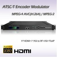 Buy cheap REM7004 Four-Channel HDMI TO ATSC MPEG-2/H.264 Encoding Modulator Support HDCP from wholesalers