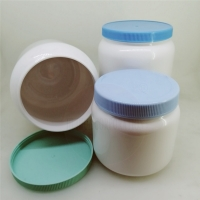 Buy cheap New design 400g 1000g Plastic Milk Protein powder PET container can with screw cover from wholesalers