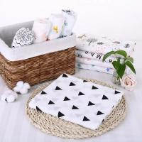 Buy cheap Durable Cute Muslin Swaddle Blankets Safe Healthy 120*120 Cm For Picnic / Travel from wholesalers
