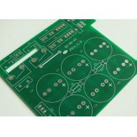 1.6mm Doulbe Sided Prototype PCB Board White Silkscreen Green Solder Mask