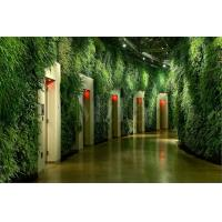 Wholesale Thick Artificial Vertical Hanging Plants Wall Garden with Dense Fake Plants for Building from china suppliers