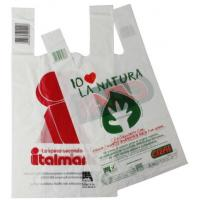 Buy cheap Hot Sale custom Printing 100% biodegradable  plastic Shopping Bags from wholesalers