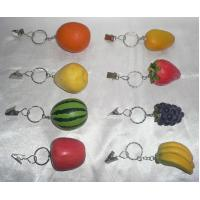 Buy cheap Polyresin keychain, polyresin fruits  from wholesalers