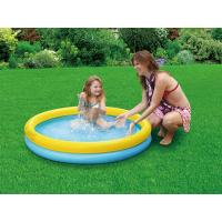 Buy cheap Yellow And Blue Inflatable Simming Pools Round , Kids Water Pool from wholesalers