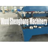 Buy cheap Pre-cutting Sheet Metal Cold Roll Forming Machine With Gear / Sprocket Driving from wholesalers