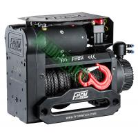 Buy cheap Dual Motor Electric Winch Off Road Electric Winch 4X4 12V 12000Lb 12000Lbs Recovery Winch with Synthetic Rope Twin Motor from wholesalers