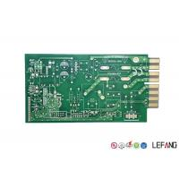 Wholesale Green Solder Printed Circuit Board PCB 4 Layers 1.6mm Thickness For Communication from china suppliers